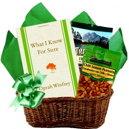 Nutty Bestseller Book Basket