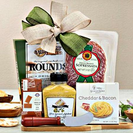 Salami and Cheese Charcuterie Gift Collection