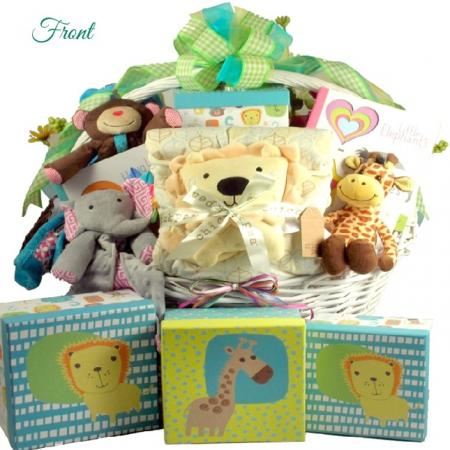 Snuggle Up Sweet Baby Gift Basket