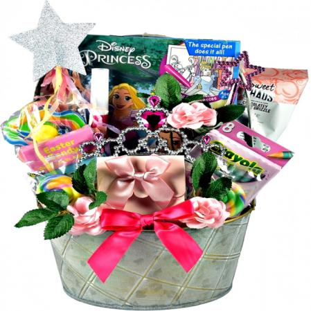 princess gift basket for little girls