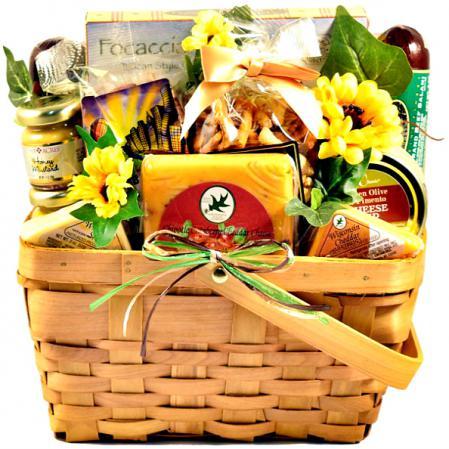 springy gift basket
