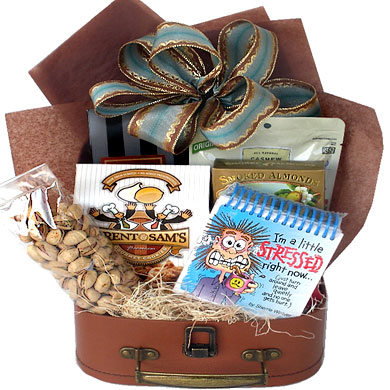 Stress or Sanity Gift Basket