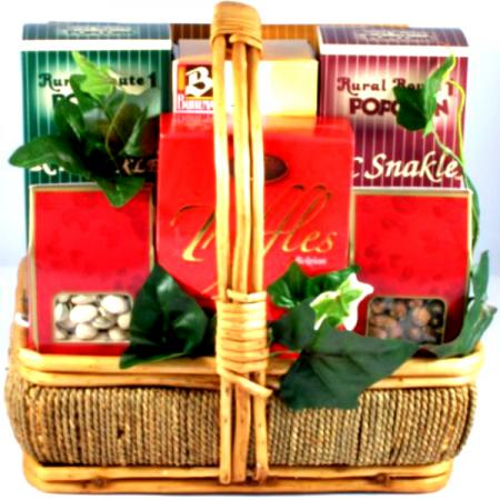 Sweets and Salty Snacks Basket