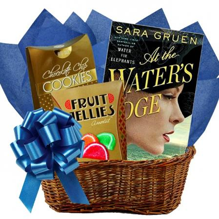 Readers Gift Basket and Snacks