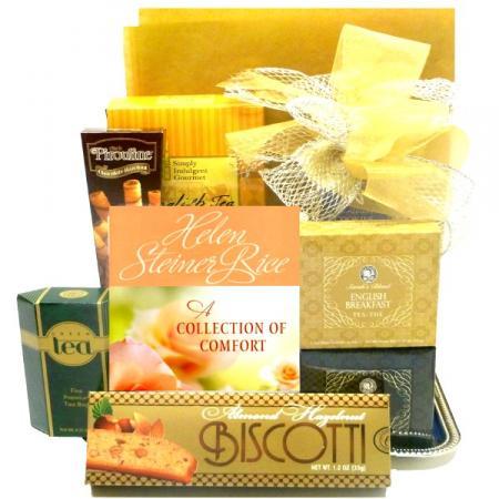 Tea and Sympathy Gift Basket