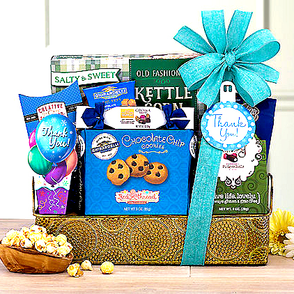 Thanks Gourmet Gift Basket