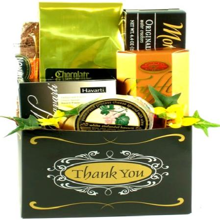 Elegant Thank You Gift Box To Express Gratitude & Thanks