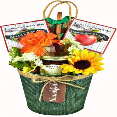gift basket of thanks