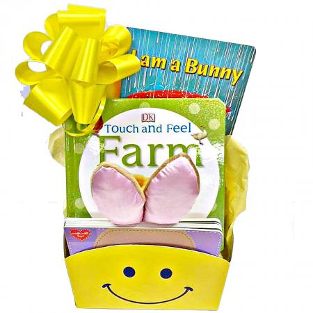 baby and toddler Easter gift basket