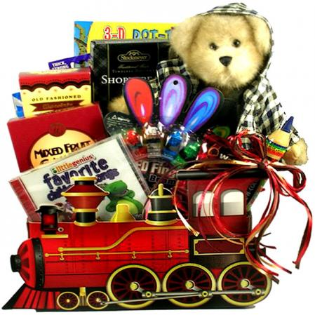 All Aboard, Train Basket for Kids