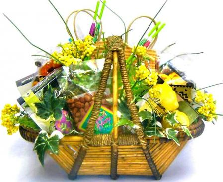 Island Time, Tropical Gift Basket