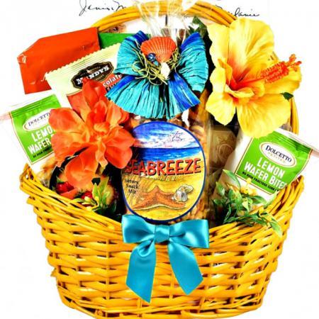 tropical treats gift baskets