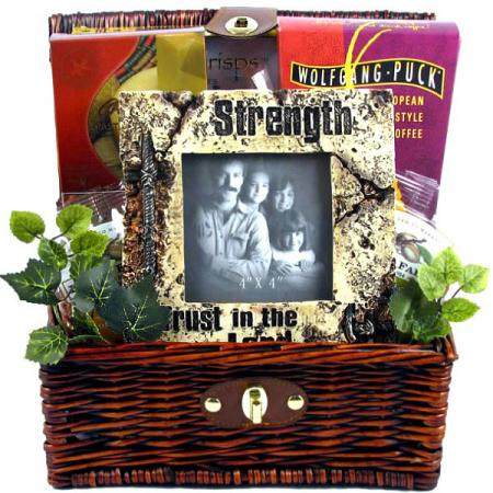 Trust In The Lord, Christian Gift Basket