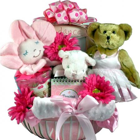 Too Tutu Cute, Ballerina Girl Basket