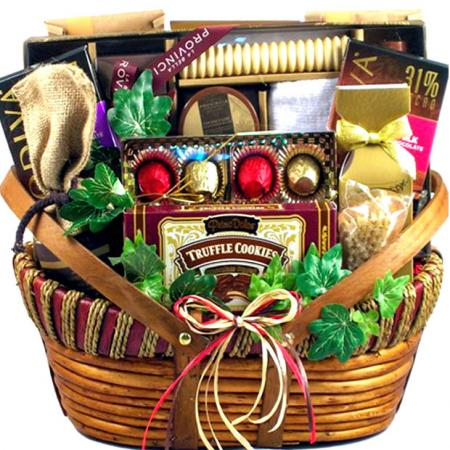 Stylish Personal Spa Gift Basket