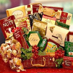 VIP Gourmet Elegance Gift Basket