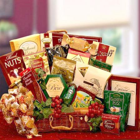 VIP Gourmet Food Basket