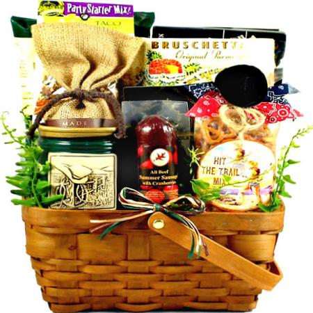 Western Themed Gift Basket for Men