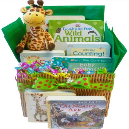 Wild About Baby Gift Basket