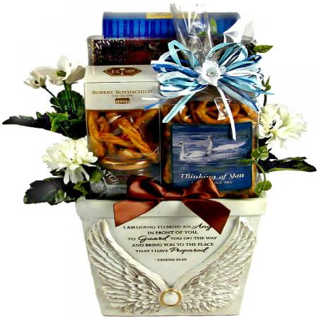 Wings to Comfort Sympathy Gift Basket