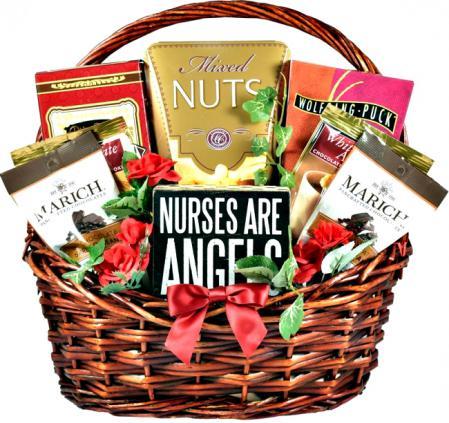 gift basket for a nurse