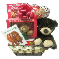 Bear Gift Basket for New Baby