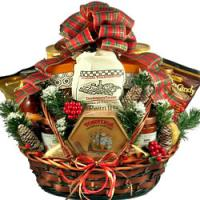 Country Christmas Gift Basket