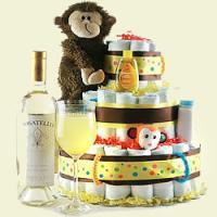 Baby Diaper Cake, Baby Shower Gift