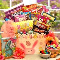 Easter Bunny Hip Hops Gift Basket