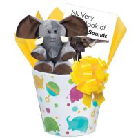 new baby-elephant-gift-basket