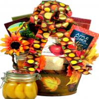 Fall-Leaves-Gift-Basket