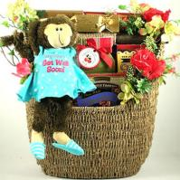 Hang In There, Get Well Gift Basket