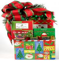 A Festive Winter Wonderland Holiday Gift Box