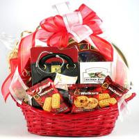 Heartwarming get well gift basket