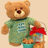 Teddy Bear and Cookies
