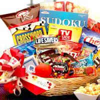 Get Well Soon Gift Basket for Someone Sick