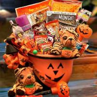 Frightful Halloween Fun Basket