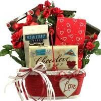 All My Heart Romantic Gift Basket