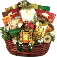 Holiday Basket Deck the Halls