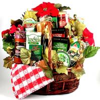 Deluxe Family Christmas Basket (Italian)
