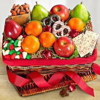 winter delights fruit basket