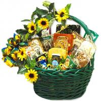 Sunflower-Basket-Gift