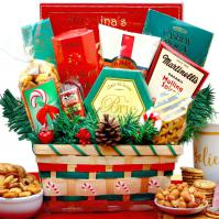 taste of Christmas holiday gift basket