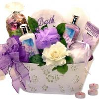 spa basket for women