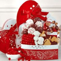 Valentine Sweets Gift Baskets