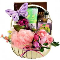 pampering aroma therapy gift basket