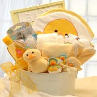 New Baby Bath Time, Duckling-Theme Gift Set