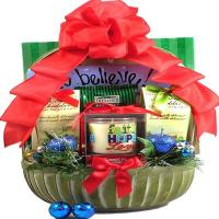 Rejoice Christian Christmas Basket