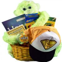 childhood cancer gift basket for kids