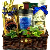 Big Dreams Gift Basket, Think Positive, Laugh Lots, Live Large